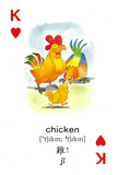 Far East English-Chinese Playing Card Dictionary-Animals (II)