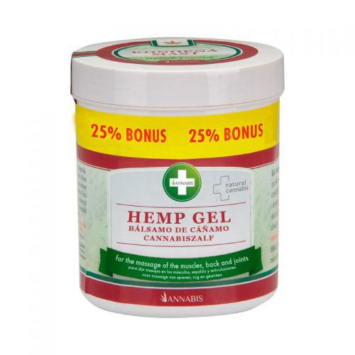 Hemp Gel 300ml + 25% Free