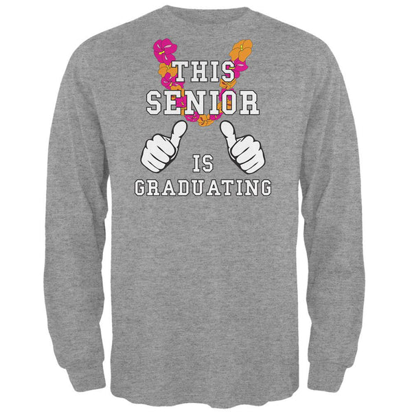 Graduation This Senior is Graduating Mens Long Sleeve T Shirt