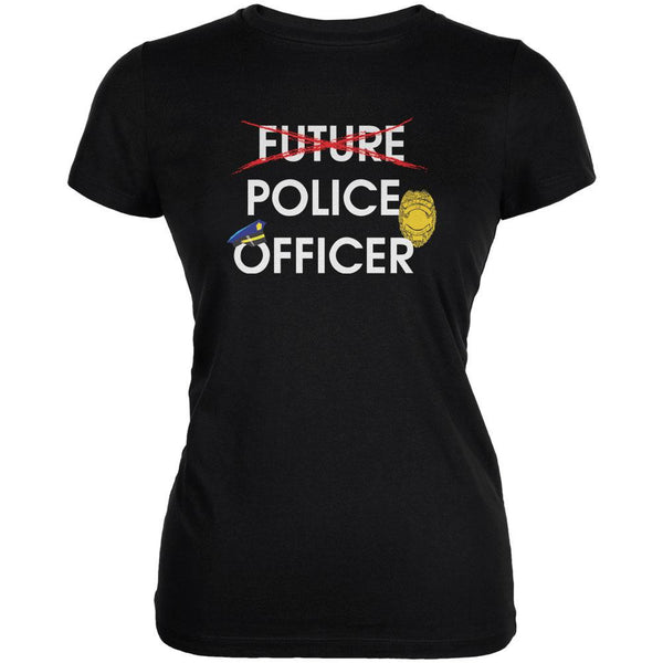 Graduation - Future Police Officer Juniors Soft T Shirt
