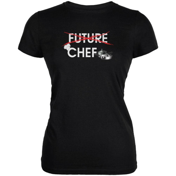 Graduation - Future Chef Juniors Soft T Shirt