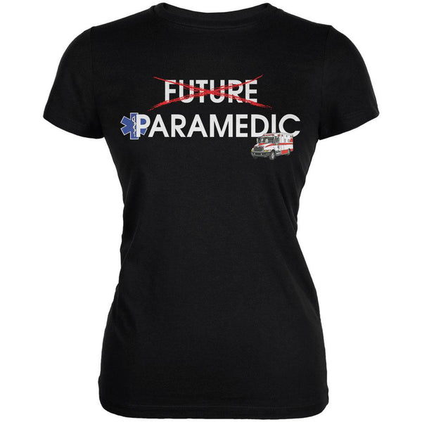 Graduation - Future Paramedic Juniors Soft T Shirt