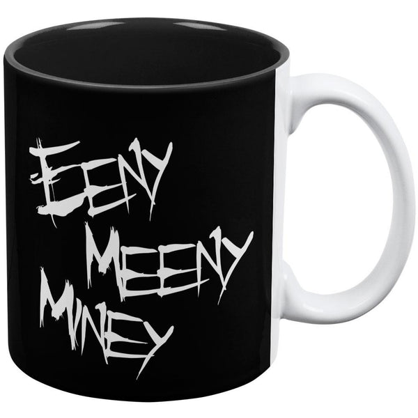 Eeny Meeny Miney Moe Zombie Hand All Over Coffee Mug