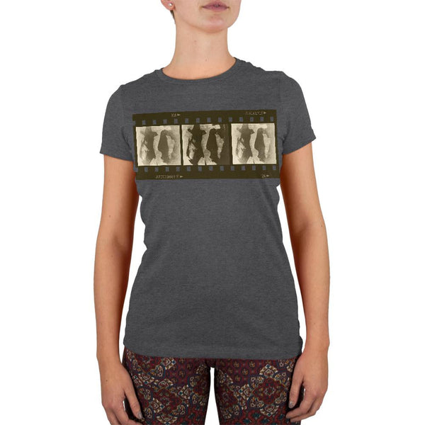 Lost In Her Eyes Juniors Soft T Shirt