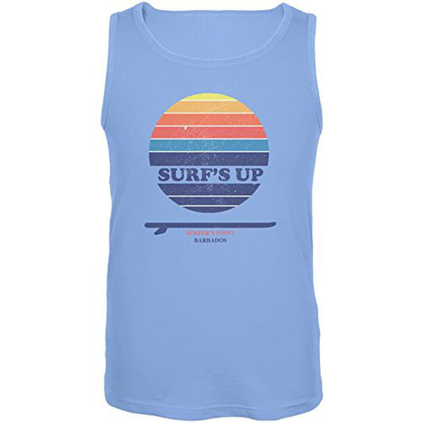 Surf's Up Surfer's Point Barbados Mens Tank Top