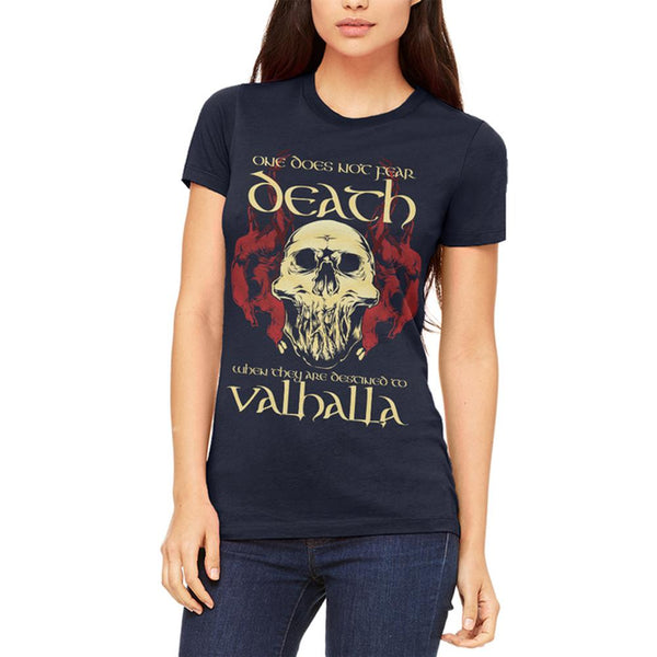 Viking Death Valhalla Juniors Soft T Shirt