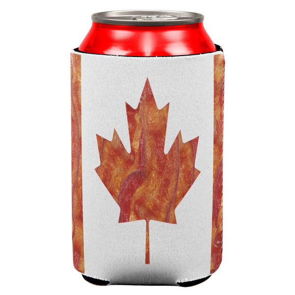 Canadian Bacon Flag All Over Can Cooler