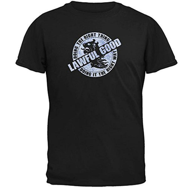 Alignment Lawful Good Mens T Shirt