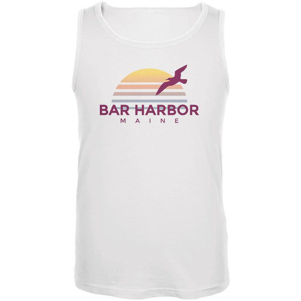 Beach Sun Bar Harbor Maine Mens Tank Top
