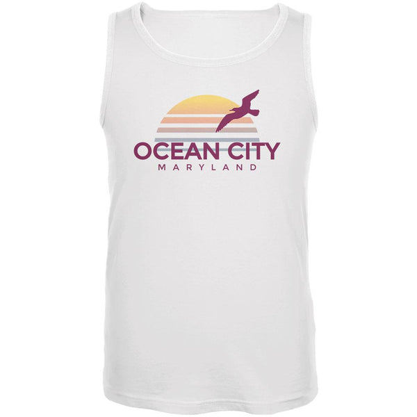 Beach Sun Ocean City Maryland Mens Tank Top
