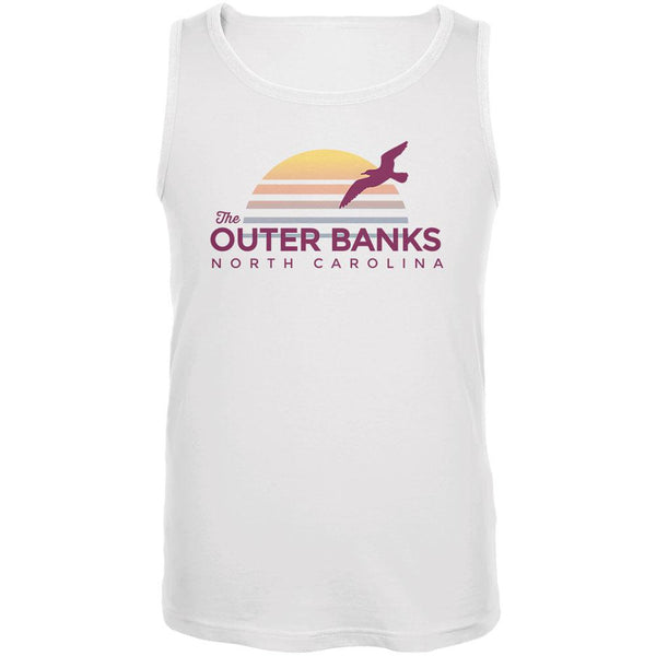Beach Sun The Outer Banks North Carolina Mens Tank Top