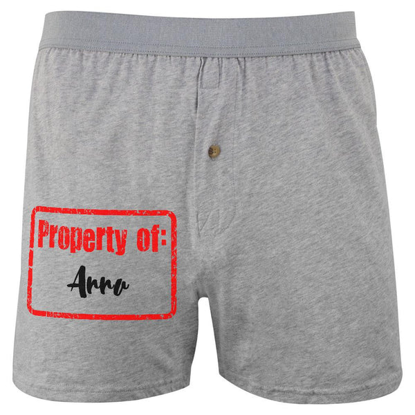 Property of Anna Soft Knit Boxer