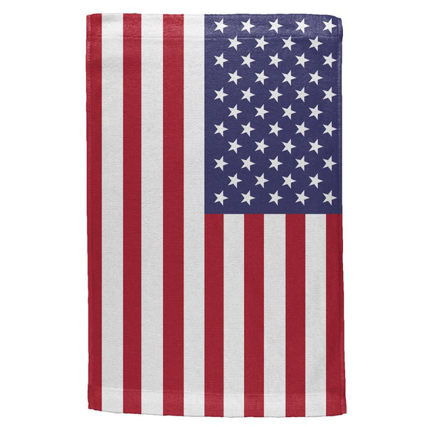 4th of July American Flag All Over Hand Towel