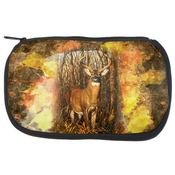 10 Point Buck Splatter Travel Bag