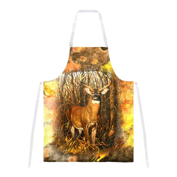 10 Point Buck Splatter All Over Apron