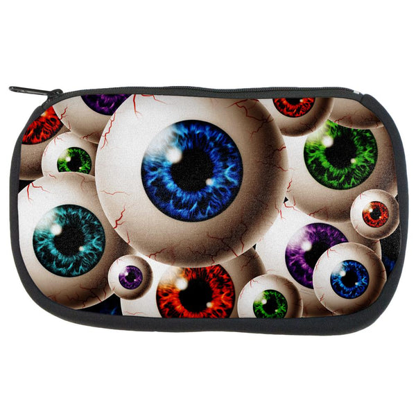 Creepy Watcher Eyeballs Travel Bag