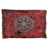 Viking Warrior Chaos Symbol Pillow Case