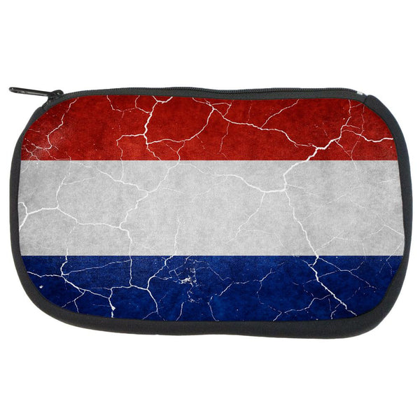 Distressed Netherlands Flag Travel Bag