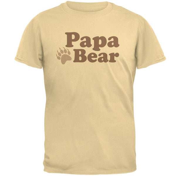 Father's Day - Papa Bear Brown T-Shirt