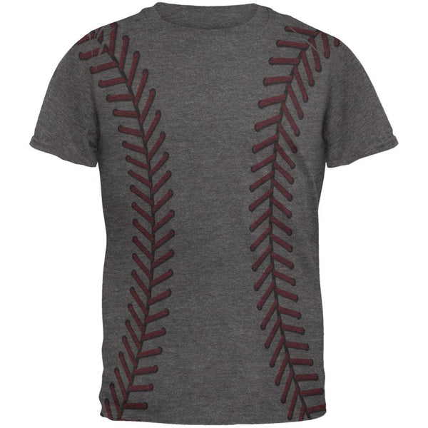 Softball Stitches Mens Soft T Shirt