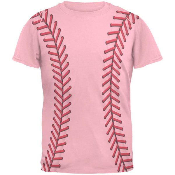 Softball Stitches Mens T Shirt