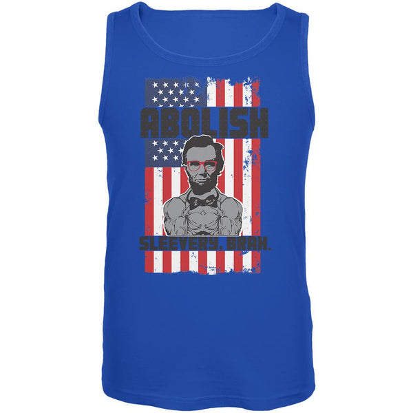 4th of July Abolish Sleevery Mens Tank Top