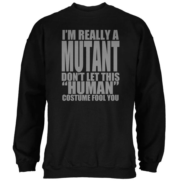 Halloween Human Mutant Costume Mens Sweatshirt