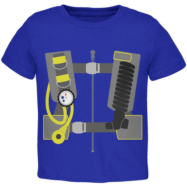 Halloween - Scuba Diver Costume Toddler T Shirt