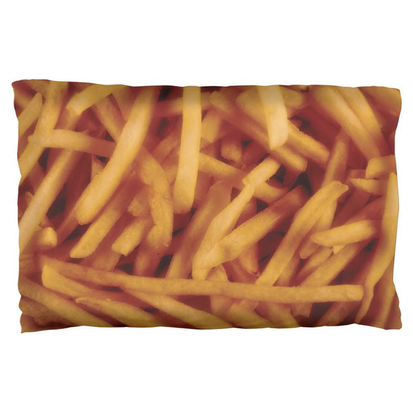 Fast Food Golden French Fries Pillow Case