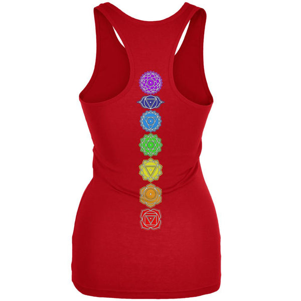Color Your Chakras Womens Soft Racerback Tank Top