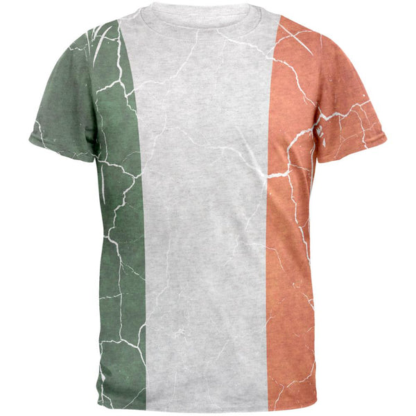 Distressed Irish Flag Mens T Shirt