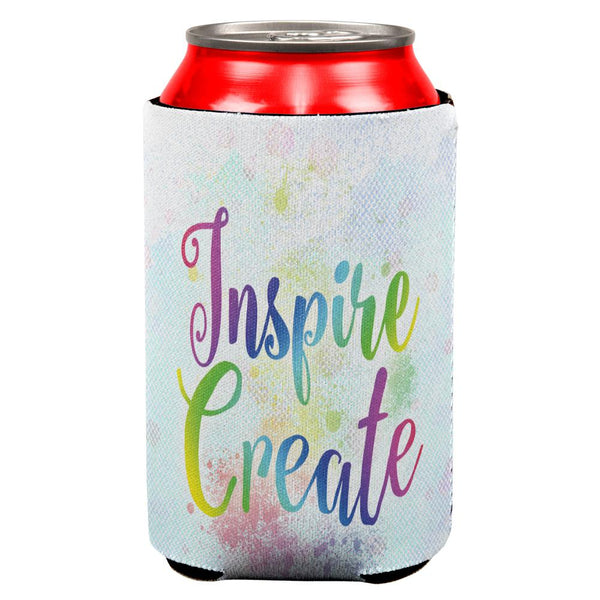 Inspire and Create Pastel Half Tone Art All Over Can Cooler