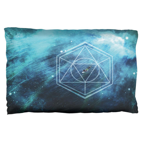 Surfing Sacred Cosmic Waves Pillow Case