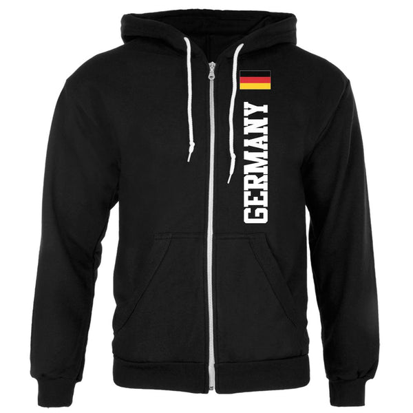 Oktoberfest Germany Flag World Cup Mens Full Zip Hoodie