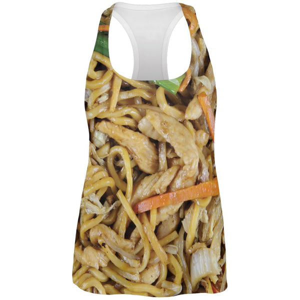 Chicken Lo Mein Costume All Over Womens Work Out Tank Top