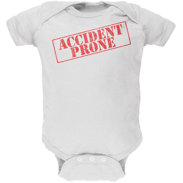 Accident Prone Funny Soft Baby One Piece
