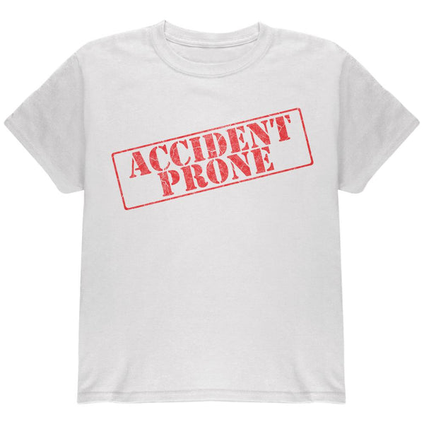 Accident Prone Funny Youth T Shirt