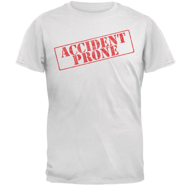 Accident Prone Funny Mens T Shirt