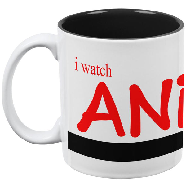 Anime Because Real Life Sucks All Over Coffee Mug