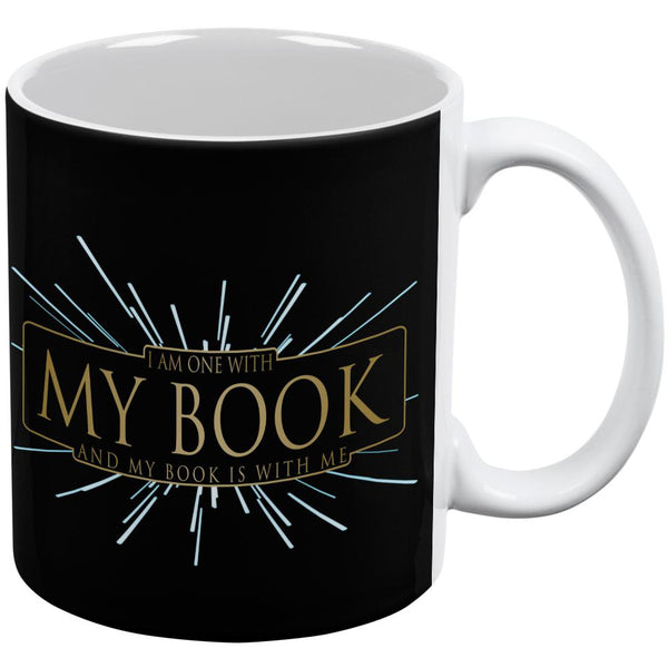 One With My Book Force Funny All Over Coffee Mug