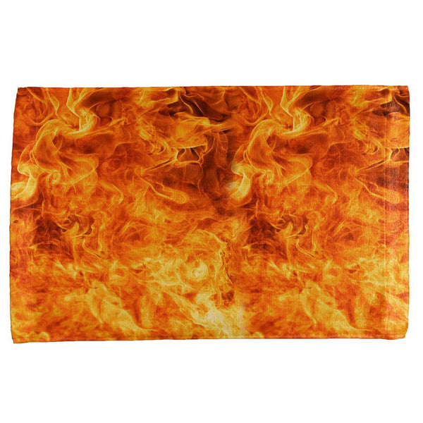 Flames All Over Hand Towel