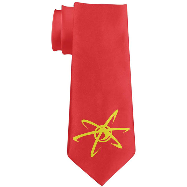 Boy Genius Neutron Atom All Over Neck Tie