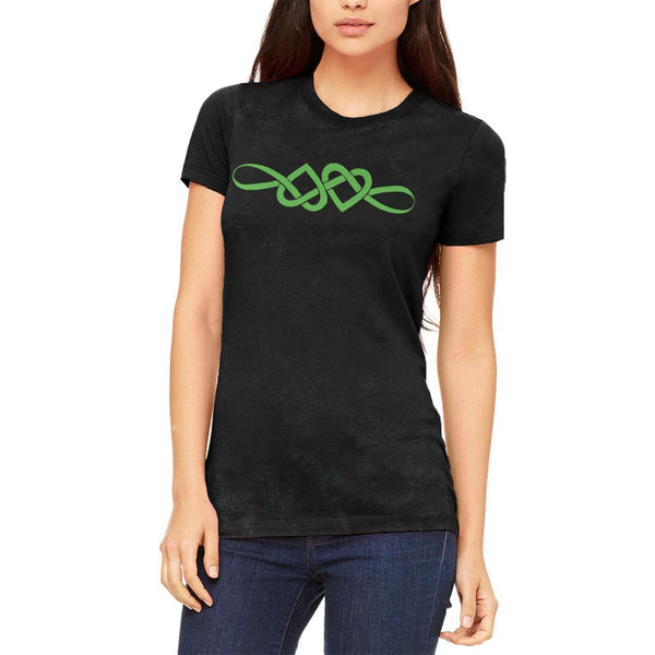 Irish Celtic Infinite Love Knot Juniors Soft T Shirt