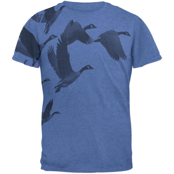 Canadian Geese Goose Flying V Mens T Shirt