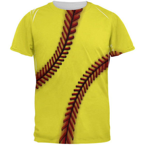 Fastpitch Softball All Over Mens T Shirt