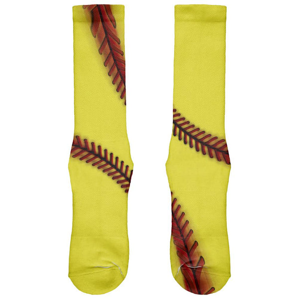 Fastpitch Softball All Over Crew Socks