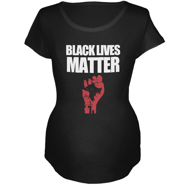 Black Lives Matter Maternity Soft T Shirt