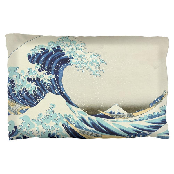 Great Wave Tsunami Japanese Painting Pillow Case