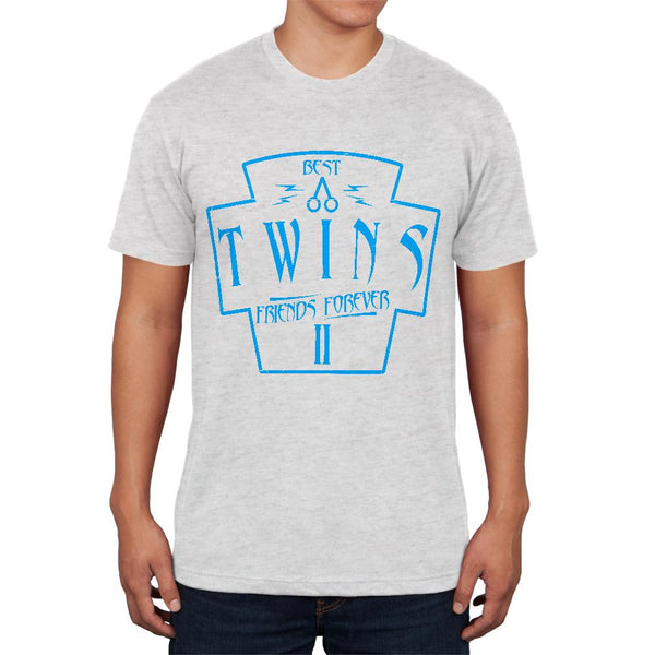 Twins Best Friends Forever Distressed Second Mens Soft T Shirt