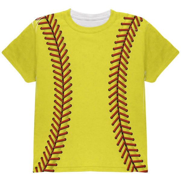 Softball Costume All Over Youth T Shirt